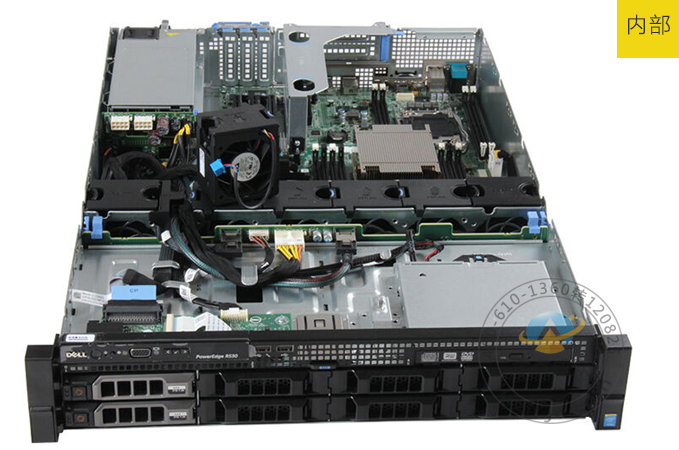 戴尔poweredge r530 机架式服务器(xeon e5-2609 v3*2