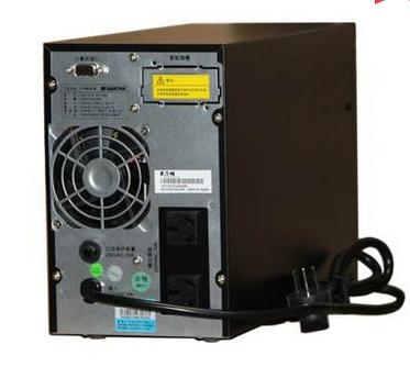 山特ups电源 c1k/1kva(800w)内置电池 断电延时10分钟