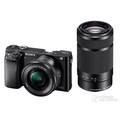 Sony 索尼 ILCE-6000套机(E PZ 16-50mm,55-210mm)4D对焦高速连拍每秒11张、*完善的售后,被信任是一种快乐!