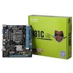 Onda/昂达 H81C H81主板LGA1150 VGA 原生USB3.0 支持G1840 G3260