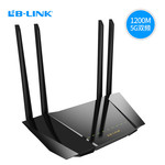 B-LINK必联 千兆双频路由器1200M穿墙王 智能5G千兆wifi光纤路由器