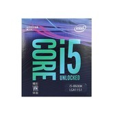 Intel/英特尔 i5 8600k 中文盒装八代CPU台式机电脑处理器