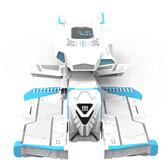 名龙堂 暴龙M80x CRUISER·BASIC星舰 科幻电脑主机 蓝白定制