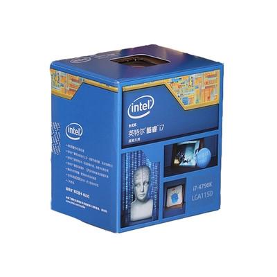 Intel 酷睿i7 4790K22纳米 Haswell处理器  不锁频 intel官方联保三年