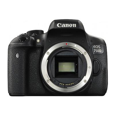 佳能(Canon)EOS 750D 单反机身 不含镜头 普及型单反全面升级