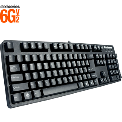 SteelSeries 6Gv2有线红轴机械键盘