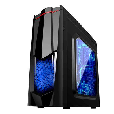 极客i7 7700/GTX1050TI独显组装机游戏电脑主机台式DIY游戏组装机