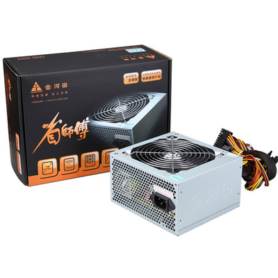 金河田 省师傅4000 额定300W电脑主机箱静音电源台式机atx便宜电源