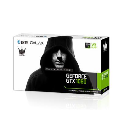 影驰 GeForce GTX 1060名人堂 6G 独立游戏显卡 非GTX1050显卡