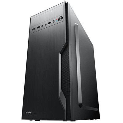 先锋奔腾G3900/120G SSD固态盘家用办公台式电脑主机/DIY组装机