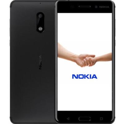 【现货当天发 顺丰包邮】诺基亚 6(TA-1000/全网通)4GB+64GB 黑色