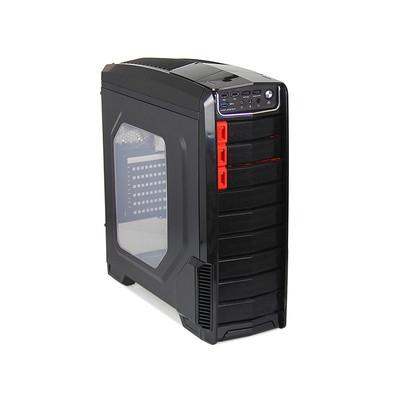 游戏悍将 刀锋1   前置USB3 台式机机箱  支持风扇 调速 侧透 支持 长显卡  支持ATX  MATX 主板类型