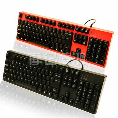 包邮摩豹K40游戏竞技键盘七彩虹光游戏键盘网吧键盘LOL