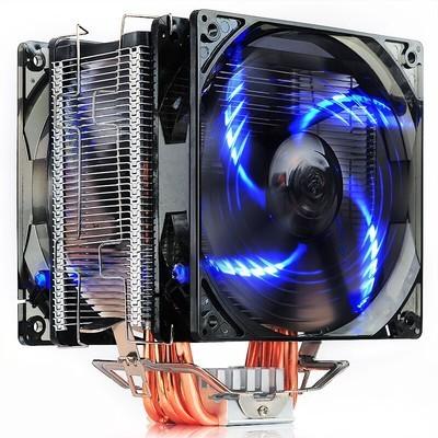 超频三 东海X6 CPU散热器 多平台/12CM静音风扇/附带硅脂