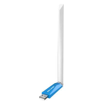 B-LINK迷你USB无线网卡穿墙 台式机笔记本电脑WIFI发射接收器外置