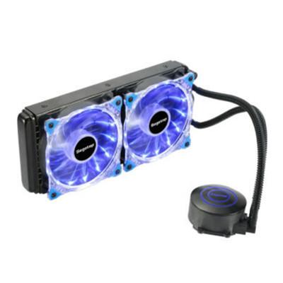 鑫谷水凌霜240水冷散热器cpu风扇 台式机电脑一体式水冷套装