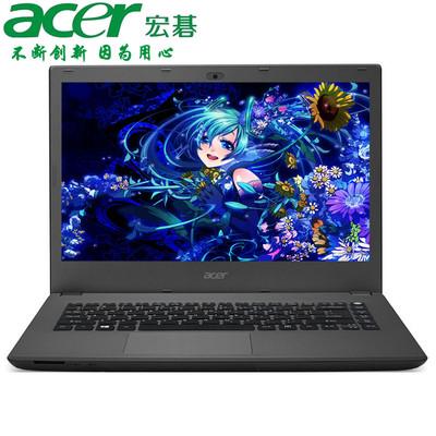 【官方授权 顺丰包邮】Acer K4000-57PE 14英寸多彩影音本 i5-6200U 4GB 500GB NVIDIA GeForce 920M -2G 预装Windows 10 黑灰色