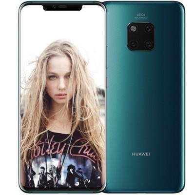 【顺丰包邮】华为 HUAWEI Mate 20 Pro  6GB+128GB亮黑色全网通版4G 极光色 行货128GB