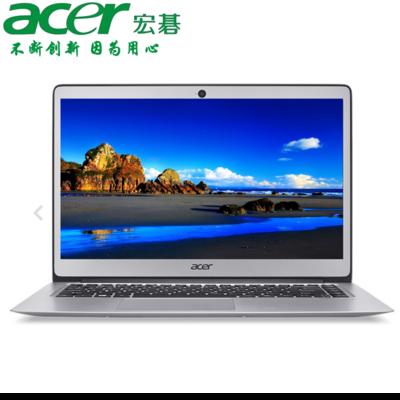 【官方授权 顺丰包邮】Acer SF314-51-5395  14英寸时尚轻薄本 i5-7200U 8GB内存 256GB高速固态 1920X1080高清屏 预装Windows 10