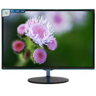三星 S27D390H  27英寸LED背光液晶显示器,VGA HDMI PLS广视角面板