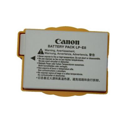 佳能(Canon) LP-E8 相机电池 佳能E8 原装扣机电 各种版本随机发货