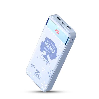羽博20000毫安移动电源 大屏充电宝更大更炫