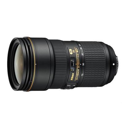 尼康 AF-S 尼克尔 24-70mm f/2.8E ED VR。尼康签约经销商产品有保障