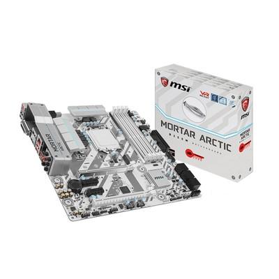微星(MSI)B250M MORTAR ARCTIC主板(Intel B250/LGA 1151 白色诱惑