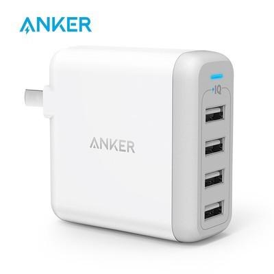 Anker安克 40W 4口USB苹果手机充电器/多口充电器/充电头电源适配器