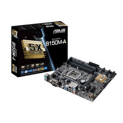 【行货保证限时特惠】华硕 B150M-A(Intel B150/LGA 1151配六代处理器 装机套提更优惠