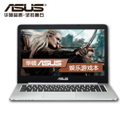 【顺丰包邮】华硕K401LB5200(500G)  性能 质轻耐用 14英寸超纤薄游戏影音本 i5-5200U/4G/GT940-2G独显/FHD全高清屏