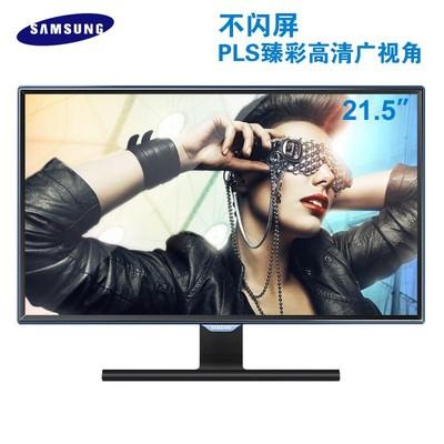 三星 S22E390HS 新款PLS  面板 支持 HDMI  VGA 视频输入  支持1080P