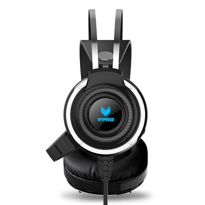 雷柏 VH100背光游戏耳机电竞耳机头戴式耳机 电竞耳机