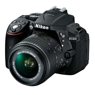 【限时抢购】Nikon尼康 D5300套机(18-55mm VR)签约代理产品有保障