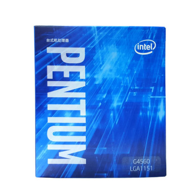 Intel/英特尔 G4560 奔腾3.5G双核电脑台式机CPU处理器中文盒包