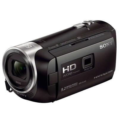 索尼(SONY)HDR-PJ410 高清数码摄像机 光学防抖 30倍光学变焦
