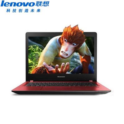【官方授权 顺丰包邮】联想 扬天M41-70A-IFI(红色)睿智商务本 酷睿i5 5200U 4GB 500GB  R7 M360-2G LED背光 预装Windows 7系统