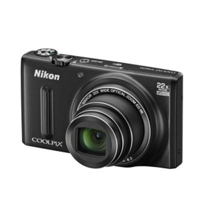 尼康(Nikon)COOLPIX S9600 数码相机(1605万有效像素 22倍光变 3英寸屏 25mm广角 WIFI)