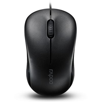 雷柏N1130有线鼠标 光学鼠标 迷你鼠标