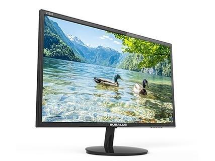 大水牛(BUBALUS)V2210 21.5英寸高清LED显示屏 窄边框支持壁挂 黑色 黑色
