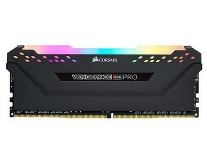美商海盗船(USCORSAIR) 复仇者RGB PRO灯条 DDR4 3000 8GB台式机内存 复仇者RGB PRO灯条 DDR4
