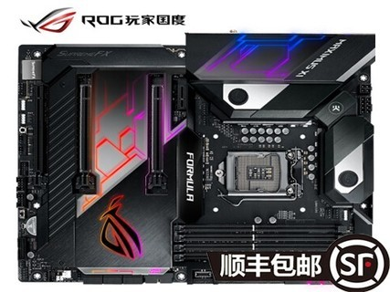 玩家国度(REPUBLIC OF GAMERS)ROG MAXIMUS XI FORMULA 主板 M11F 黑色