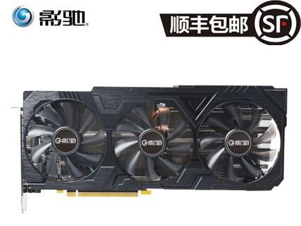 影驰 GeForce RTX 2080 大将 星爵三重火力散热