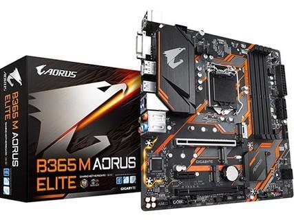 "B365 M AORUS ELITE ""小雕"" 电竞游戏主板 支持WIN7支持9400F套购惠 黑色"