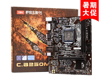 Colorful/七彩虹 战斧C.B250M-D魔音版主板支持intel 7代i5/i7CPU B250M-D