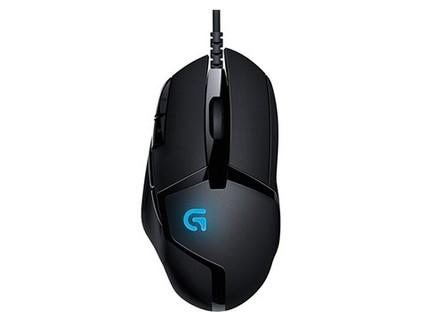 罗技G402 可编程宏侧键 守望先锋/LOL有线电竞背光游戏鼠标 黑色