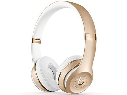 Beats Solo3 Wireless 头戴式无线蓝牙耳机 金色