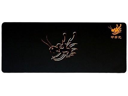 甲骨龙 超大号鼠标垫专业游戏鼠标垫绝地求生吃鸡大号鼠标垫锁边 黑色