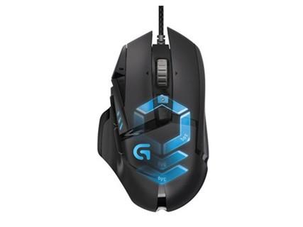 罗技G502有线自适应游戏鼠标竞技宏编程LOL守望先锋H1Z1