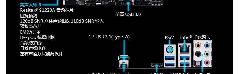 昆明卓兴电脑批发——华硕 prime z270-ar 1390元